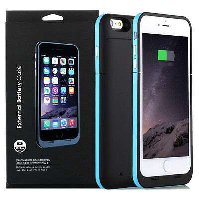6800mAh Battery Case External Power Charger Charging Cover For iPhone 6s 6Plus 7