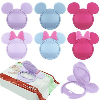 Hot Newborn Baby Wet Wipes Cover Cute Reusable Flip Lid for Wet Paper Promotion