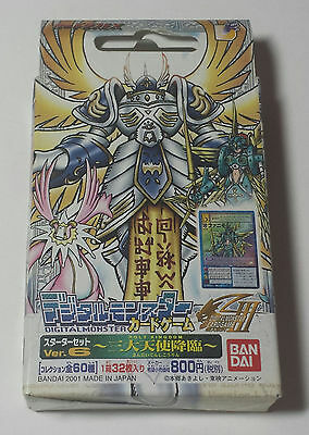 Japanese Digimon Card Advent of the Three Great Angels Starter Deck Set Ver. 6