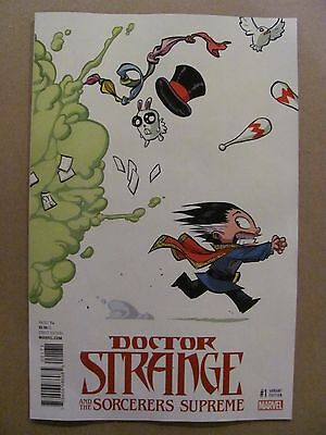 Doctor Strange And The Sorcerers Supreme #1 Marvel 2016 Young Variant 9.6 NM+