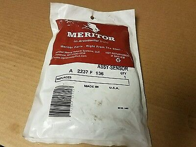 Meritor Speedometer Sensor Assembly part A-2237-F-136, Bus, Truck, RV