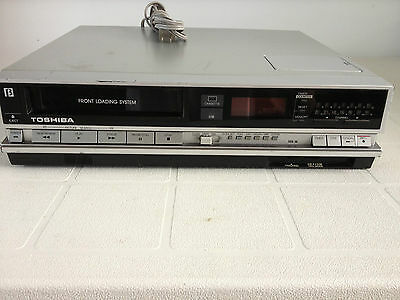 Vintage Toshiba Beta VCR V-600C Player Recorder AS IS