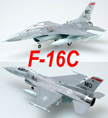 Easy Model 1/72 F-16C USAF 91-0401-MO Plastic Fighter Model #37125