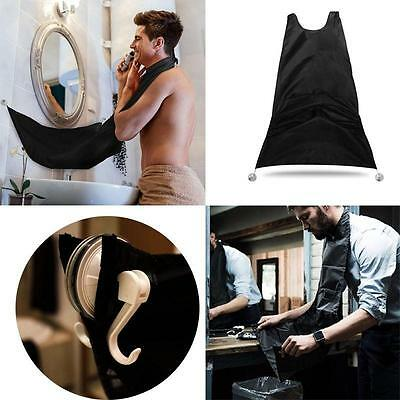 Beard Care Shave Apron Cloth Bib Facial Hair Trimming Grooming Catcher Well