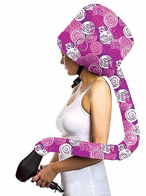Special Edition Vintage Design Deluxe Softhood Bonnet Hair Dryer Attachment by F