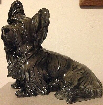 Vintage Rosenthal Bavaria Skye Terrier - A Best In Show Top Dog Art Masterpiece!