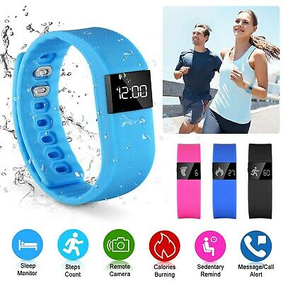 Bluetooth Smart Wrist Watch Bracelet Band SMS Activity Sports Fitness Tracker