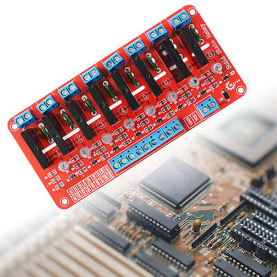 8 Channel 5V Solid State Relay Module Board SSR G3MB-202P 250V 2A Arduino TE171