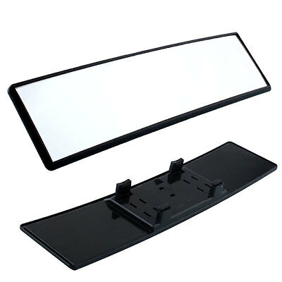 Car Large Angle 300mm Wide Curved Rear View Rearview Convex Mirror Universal