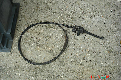 Breaking Peugeot Sum up 125, REar Brake Lever & cable