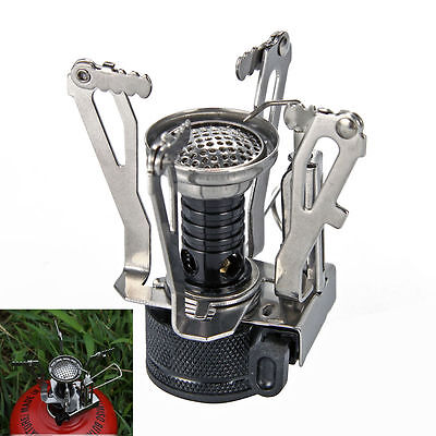 Camping Gas Stove Outdoor Fishing Portable Burner Hiking Mini Picnic Camp OS348