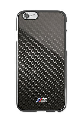 Genuine BMW M Carbon Hard Case I-Phone 6 PN: 80212413761 UK M1 M2 M3 M4 M5 M6
