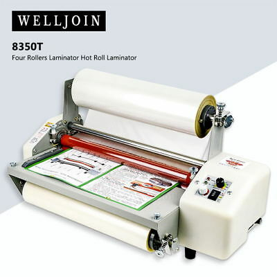 11th 8350T A3+ Four Rollers Laminator Hot Roll Laminating Machine
