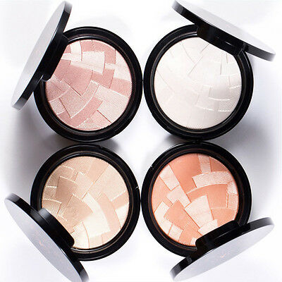 4 Shades Illuminator Highlighter Bronzer Blusher Kit Palette Starlight Riviera