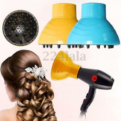 Salon Hairdressing Curly Hair Dryer Diffuser Blow Lonic Universal Blower Tool
