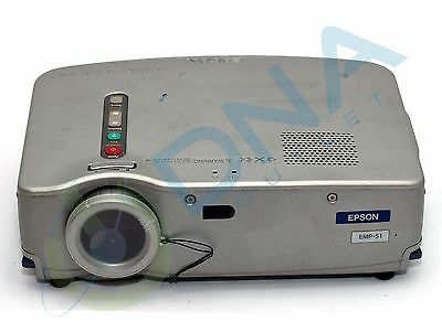 Epson Powerlite Emp-51 Digital Projector - Unknown Lamp Hours Used - Grade A