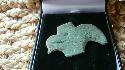 Large Bronze Roman harness mount found near York