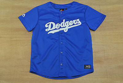 Los Angeles Dodgers - Youth 12-13 Years Old - Majestic MLB Baseball Jersey - New