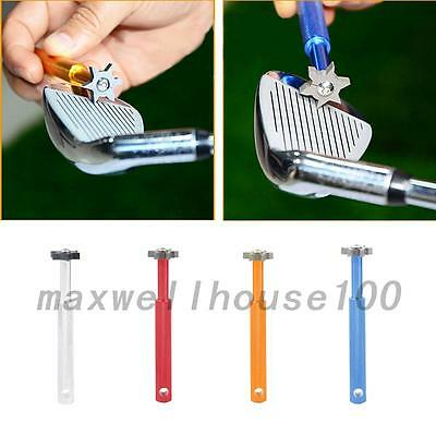 Creative Grooves Golf Club Iron Groove Cleaner Cleaning Sharpeners Tool New