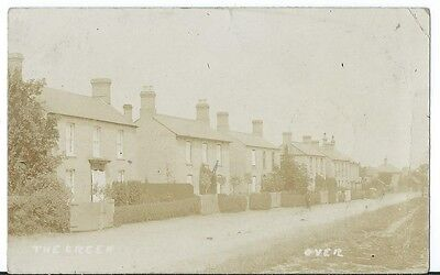 Over Village Cambridge The Green Man stands in Residential Street RP Used 1910