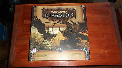 Warhammer Invasion LCG STRATELIBRI Fantasy Flight Games Lot GIOCO DI CARTE