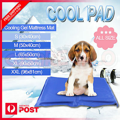 Cooling Mattress Mat  Gel Non-Toxic Pet Bed Dog Cat Cooling Multi Pad for Summer