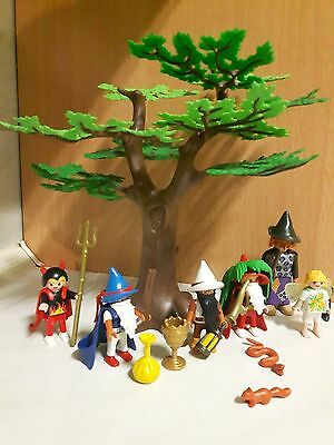 Playmobil Special 1 Hexe 4 Gnome Baum & Fee Tiere  NR:230  MAGIEWELT