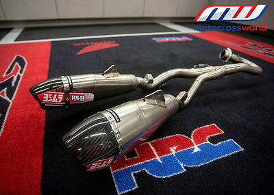Yoshimura RS-9T Dual Exhaust System for Honda CRF450R/RX 2017