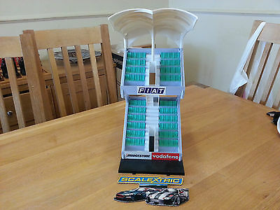 Scalextric Sport C8320  Race + Grandstand.Used & Unboxed