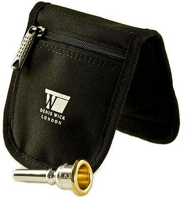 Denis Wick 3pc Mouthpiece Pouch - Canvas Small Brass