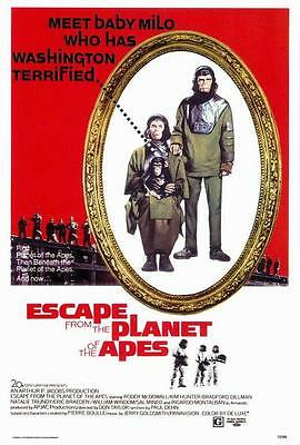 Escape from the Planet of the Apes 27x40 Movie POSTER Roddy McDowall Kim Hunter