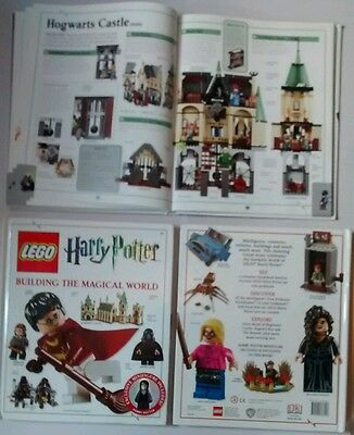 LEGO Harry Potter Building the Magical World Book + Exclusive Sealed Minifigure