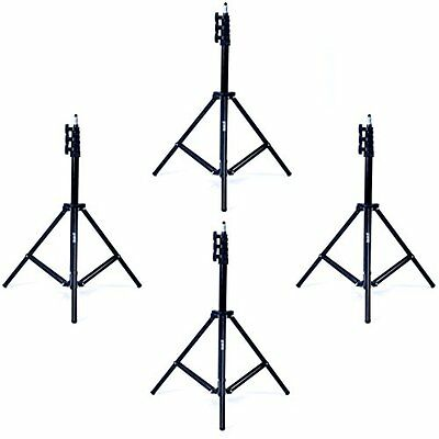 Phot-R Professional Photography 4x 2m Adjustable 4-Section Photo Studio Heavy