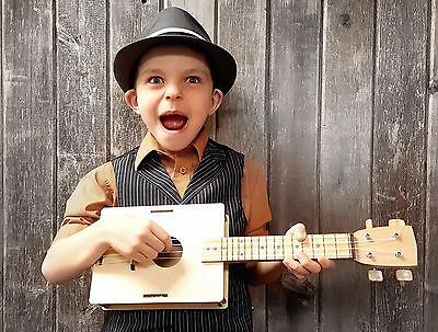 Build-It-Yourself DIY Soprano Ukulele Kit - Sounds Great! A Fun and Easy Project