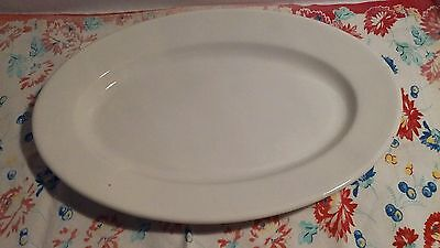 Large Vin.Buffalo China Ware 15 1/2 in. Oval Serving Platter Excellent Condition