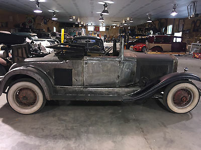 1931 Cadillac Other Coupe Convertible Roadster 1931 LaSalle Coupe Convertible Roadster Cadillac