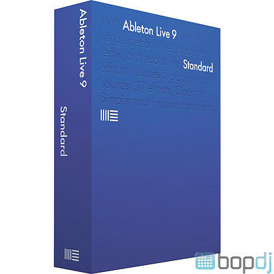 Ableton Live 9 Standard Edition - Music Production & Performance DAW Software