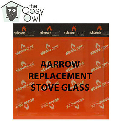 Aarrow Replacement Stove Glass - Heat Resistant Glass For Aarrow Stoves