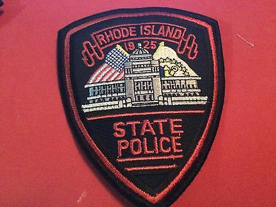 older RI State Police Patch