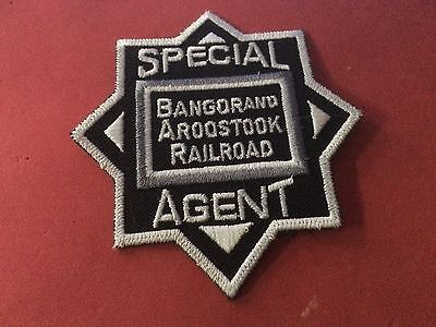 Bangor and Aroostook Railroad Police patch