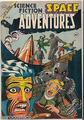 Golden Age EARLY DITKO Charlton Science Fiction SPACE ADVENTURES #10