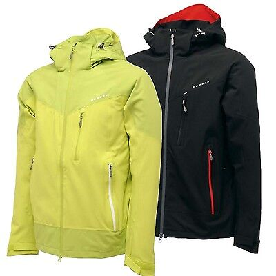Dare 2b Analogue Mens Lighweight Waterproof Breathable Stretch Jacket Lime S