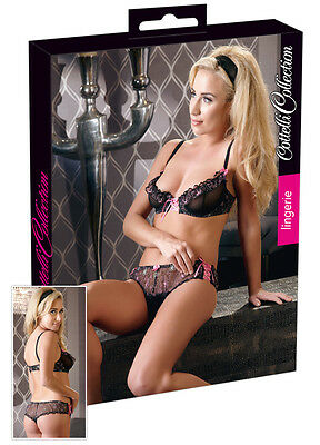 COTTELLI COLLECTION LINGERIE Set con Reggiseno Butterfly TG 75B Sverde - XXX