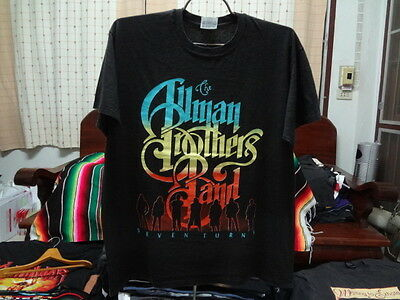 Allman Brothers Band Shades of Two Worlds Tour Concert t shirt Vintage 90s sz XL