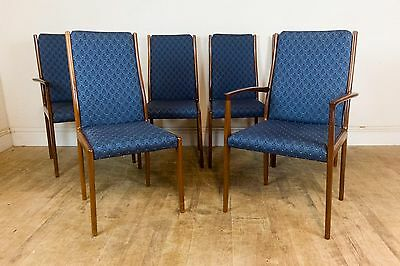 Set of 6 Vintage Retro Danish Rosewood Dining Chairs - Johanes Anderson