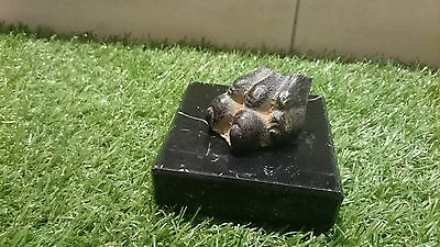 Lovely rare Ancient Bronze clawed foot off eagle or tiger unique showcase item