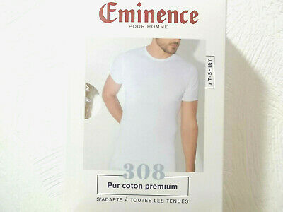 T-SHIRT EMINENCE  BLANC  COL  ROND  taille 3-4-5
