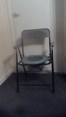 Portable Folding Commode Chair