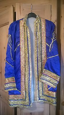 Indian Prince Ethnic Top/jacket From India Fancy dress (small/medium)