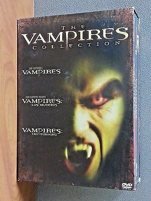 The Vampires Collection: 3 DVD Box Set   LIKE NEW  see titles below